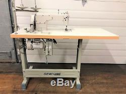 Sewline Sl-8700h Complete All-new-unit 110v Servo Industrial Sewing Machine