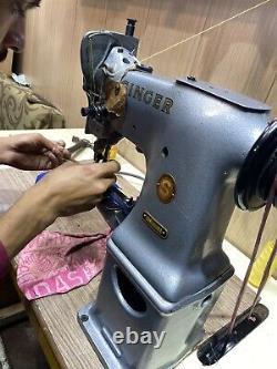 Singer 108K20 Cylinder Arm Walking Foot Lockstitch Industrial Sewing Machine