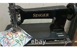 Singer 114w103 Chain Stitch Embroidery Machine Head with Accessories Restored