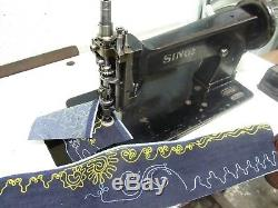 Singer 114w103 Chain stitch embroidery sewing Machine
