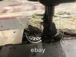 Singer 145W304 Long Arm Double Needle Walking Foot Industrial Sewing Machine 30