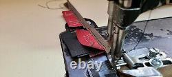 Singer 151w1 Walking Foot Industrial Sewing Machine Professional Binding Setup