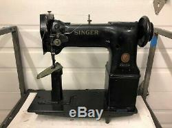 Singer 168w101 Postbed Walking Foot Leather/upholstery Industrial Sewing Machine