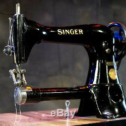 Singer 17-23 Double Roller Foot Leather Decorative Industrial Sewing Machine