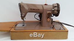 Singer 185k Heavy Duty Semi Industrial Sewing Machine + Extras