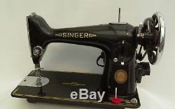 Singer 201k Heavy Duty Semi Industrial Sewing Machine ideal for Leather, Denim