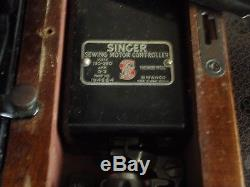 Singer 201k Semi Industrial Sewing Machine / Heavy Duty / Knee Lever VGC & GWO