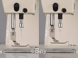Singer 20U-109 Zig Zag and Straight Stitch Sewing Machine Complete Set WithSERVO
