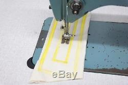 Singer 20U Zig Zag Freehand Embroidery Industrial Sewing Machine