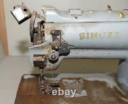 Singer 211G151 industrial sewing machine walking foot lock stitch leather carpet
