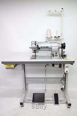 Singer 211G156 Walking Foot Needle Feed Lockstitch Industrial Sewing Machine