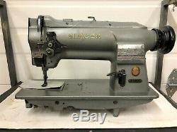 Singer 211g156 Walking Foot Vertical Bobbin Reverse Industrial Sewing Machine