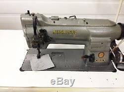 Singer 211g466 Walking Foot Big Bobbin Reverse 110v Industrial Sewing Machine