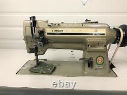 Singer 211u566 Walking Foot Big Bobbin Rev 110v Servo Industrial Sewing Machine