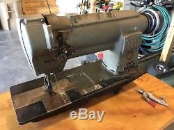 Singer 212W140 Two Needle Industrial Sewing Machine Head Only