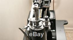 Singer 29-4 Industrial Cylinder Sewing Machine Major Restoration Must See