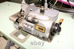 Singer 460 460K73 Industrial Commercial Overlock Serger Sewing Machine with Table