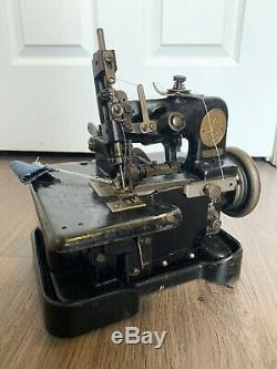 Singer 81-5 Overlock Industrial Sewing Machine Vintage Levis Jeans Stitch