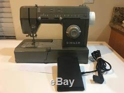 Singer Heavy Duty Sewing Machine HD110 C With Foot Pedal/Cord, Metal Body