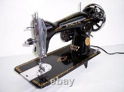 Singer Industrial Strength Sewing Machine Heavy Duty Leather, Canvas, Upholstery
