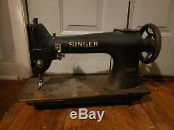 Singer Industrial Walking Foot Sewing Machine Head Only