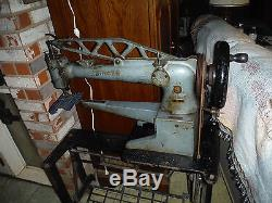 Singer Long Arm 29K73 Shoe patching Leather Sewing Machine