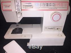 Singer Merritt Heavy Duty Industrial Commercial 4552 Sewing Machine With Pedal