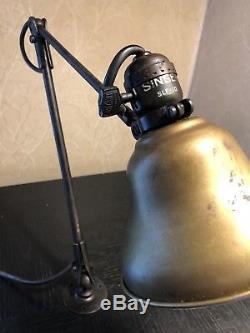 Singer SLF-10 Vintage Industrial Light Lamp Sewing Machine Bryant Socket