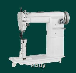 Single-needles post bed lockstitch sewing machine, industrial sewing machine send