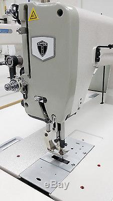 THOR GA243 Extra Heavy Duty Single Needle Walking Foot Sewing Machine NEW