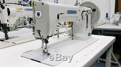 THOR GA243 Extra Heavy Duty Single Needle Walking Foot Sewing Machine NEW