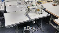 THOR GC-0302 Single Needle Top and Bottom Feed Walking Foot Sewing Machine New