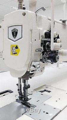THOR GC-1560L-25 Double Needle 25 Long Arm Walking Foot Sewing Machine with Servo