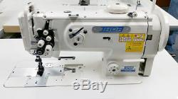 THOR GC-1560 Double Needle Walking Foot Sewing Machine for Car Marine Upholstery