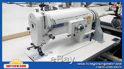 THOR GT-2153 Walking Foot Zig Zag Sewing Machine for Leather, Vinyl & Neoprene