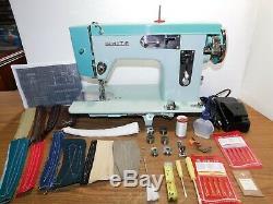 TOYOTA Industrial Strength HEAVY DUTY Sewing Machine LEATHER SUNBRELLA