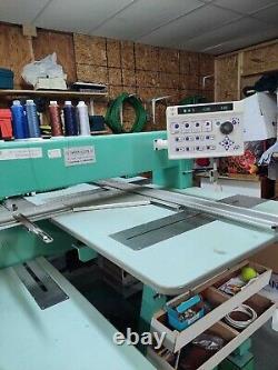 Tajima 6 Head 12 Needle STRETCH Embroidery Machine PRIVATE/COMMERCIAL USE