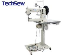 TechSew 5100 Heavy Duty Leather Industrial Sewing Machine Fully Loaded Package