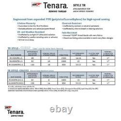 Tenara Thread WHITE UV Resistant Marine Top Quality TR V92 8 Oz