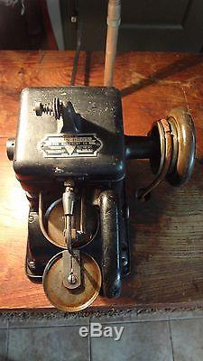 The Bonis Brothers Fur Leather Sewing Machine Corporation GE Motor J&K Cast Iron