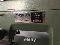 Thompson Mini Walking Foot Upholstery Industrial Sewing Machine, PW-500