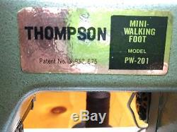 Thompson PW201 Walking Foot Sewing Machine
