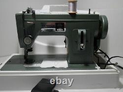 Thompson PW-301 Mini Walking Foot Sewing Machine Portable Industrial WORKING