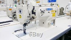Thor GC1541S Single Needle Walking Foot Sewing Machine Complete with Servo Motor