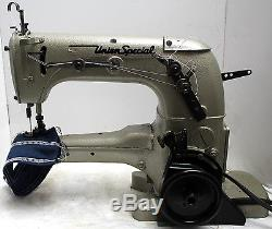 UNION SPECIAL 31100 AK Feed-Up-the-Arm 2-N Coverstitch Sewing Machine Head Only