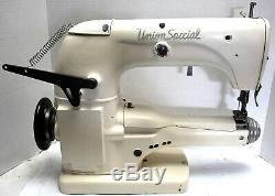 UNION SPECIAL 33700 2-Needle 1/4 Coverstitch Cylinder Industrial Sewing Machine