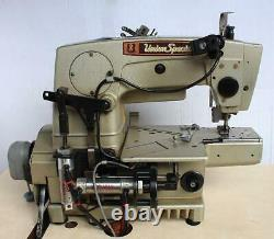 UNION SPECIAL 34700KPF12 3-Needle 4-Thread Coverstitch Industrial Sewing Machine