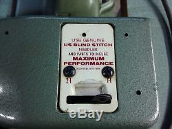 US Blind Stitch 1118-2 Blindstitch Industrial Sewing Machine