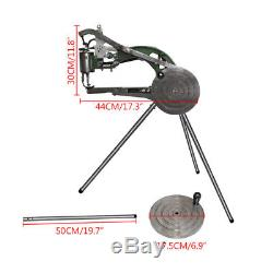 US Manual Leather Shoe Making Sewing Machine Shoes Repairs Industrial Equipment