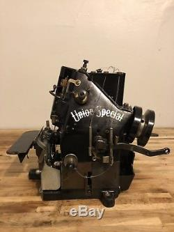 Union Special 39200 AC Vintage Industrial Sewing Machine w Differential Feed
